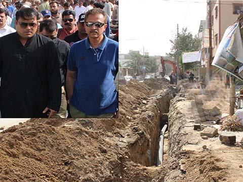 Mayor Karachi review development works in North Karachi