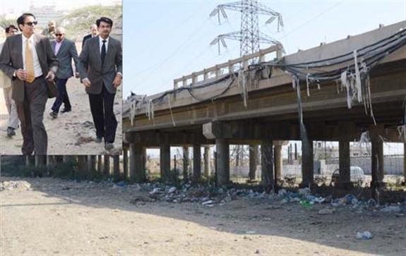 Jam Sadiq Bridge is Strong